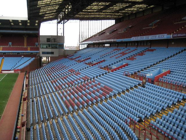 Holte End Stand, Villa Park
