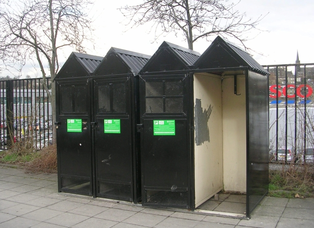 Cycle Lockers - Commercial Street