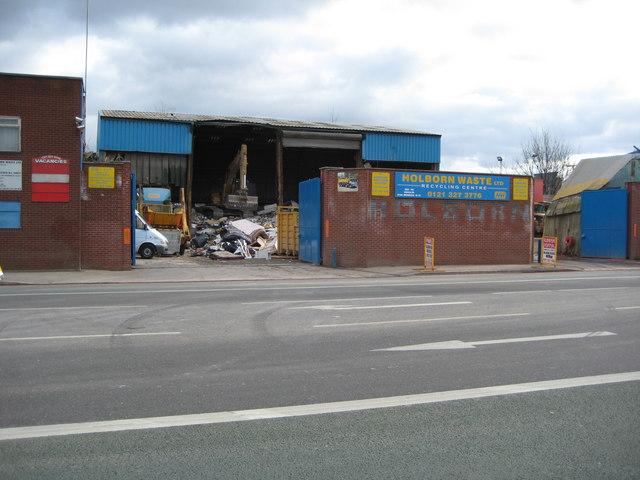 Holborn Waste, Aston