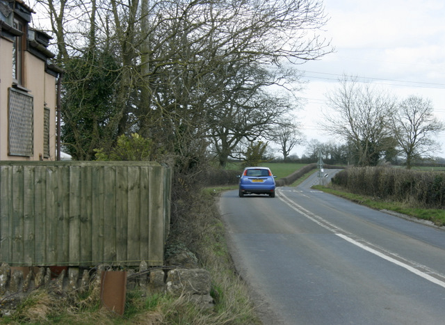 2009 : A359 north of Wanstrow