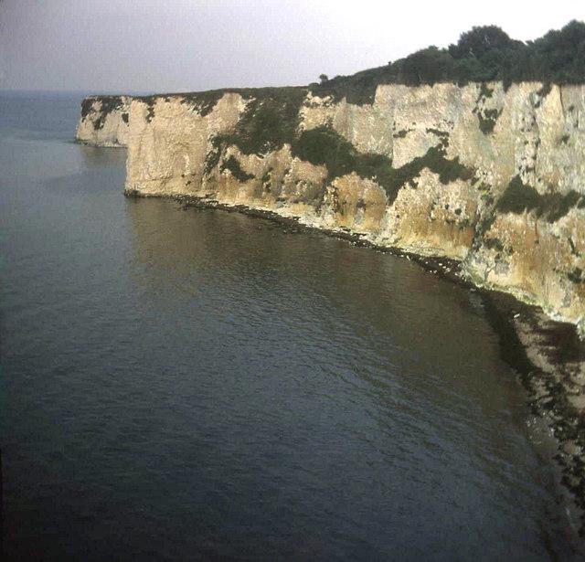 Cliffs east of Studland