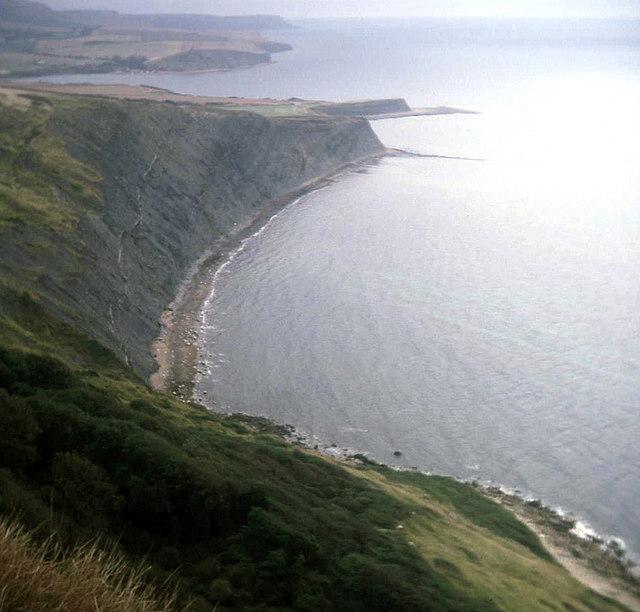 Coastline at Hobarrow Bay