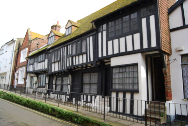 Half timbered house, All Saints' St