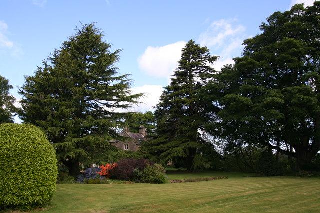 Eastwood Hall's garden