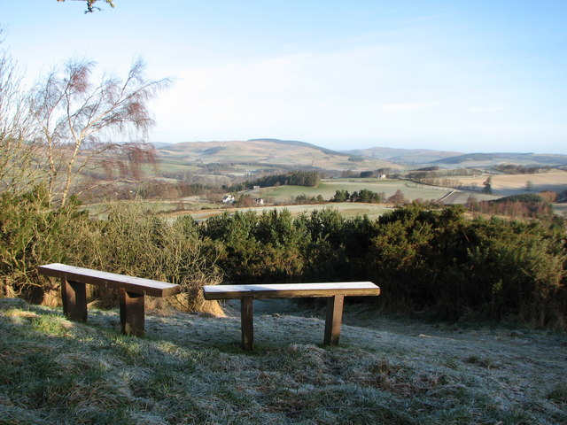 Seating on Selkirk Hill