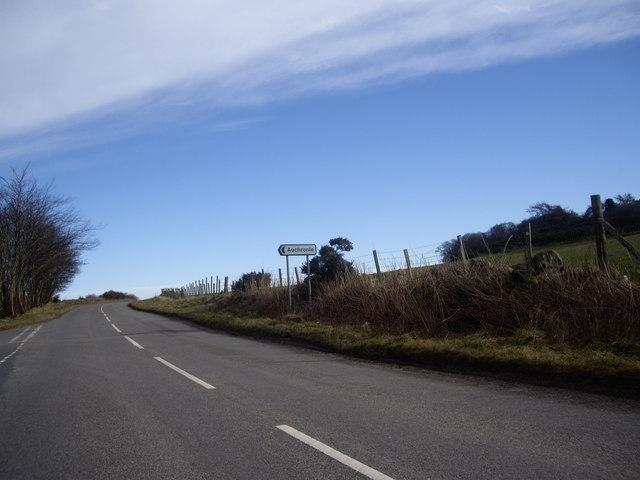 Signpost to Auchronie