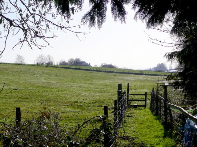 Footpath off Three Ashes Lane