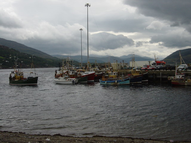 Fishing Boats at Ullapool quayside