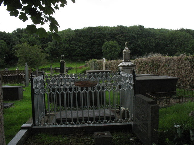 The grave of the Rev. Stephen Roose Hughes