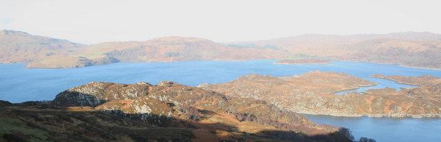 Oronsay From Tor nan Con, Loch Sunart