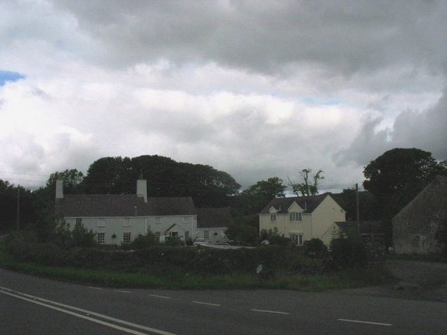 The former Glan Rafon Farmhouse, Llanallgo