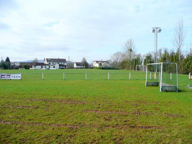 Newent Town AFC's ground