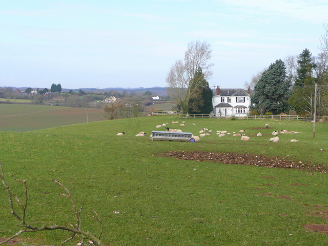 Sheep pasture off Conigree Lane