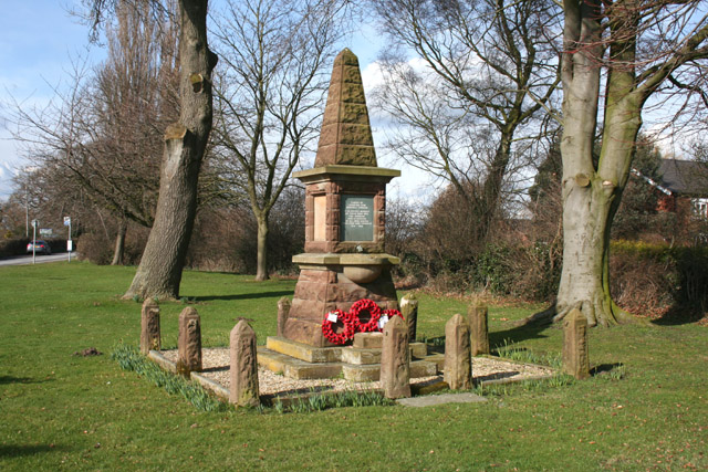 War memorial, Bradfield Green