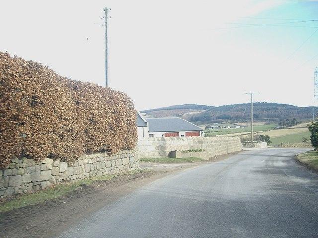 B979 at Hillhead of Concraig