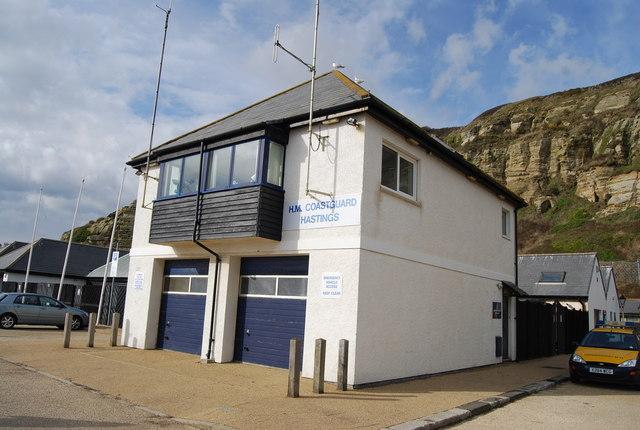 H.M. Coastguard Hastings