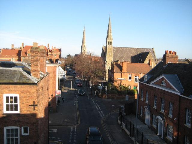 Sansome Walk, Worcester