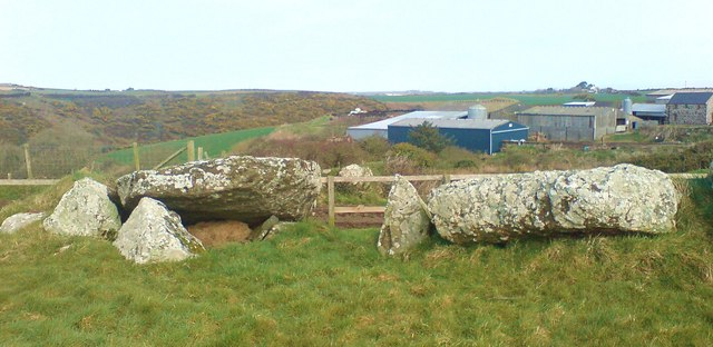 Neolithic Burial Chambers at St Elvis Farm