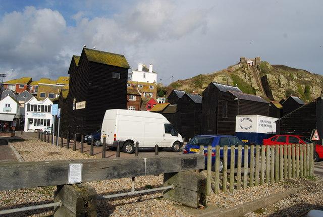Fishing Net huts, Hastings