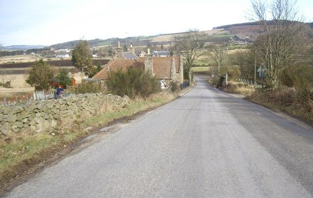 Approach to Littlemill Burn crossing