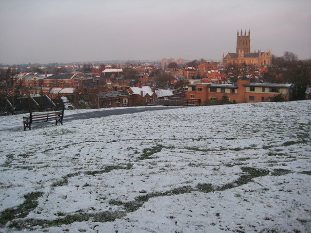 Worcester from Fort Royal Hill