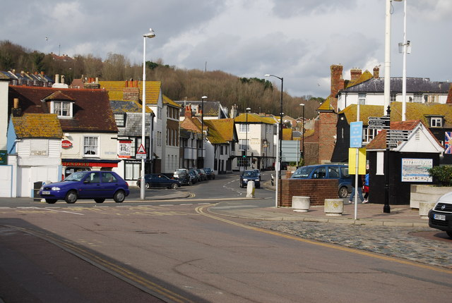 A259, The Bourne, Hastings Old Town