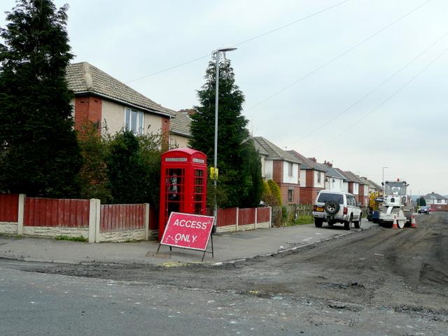 Corner of Cooper Road and Ballfield Lane, Kexbrough