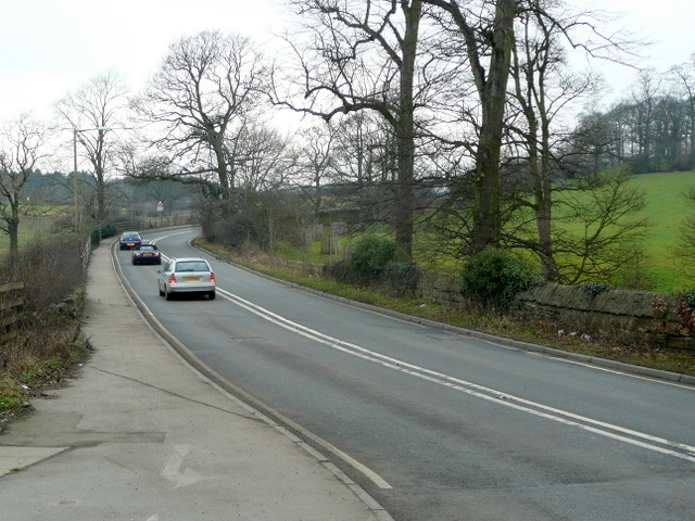 A637, heading north