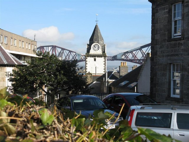 Jubilee Clock at Queensferry - 1887