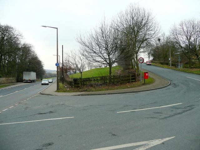 Ballfield Lane/Huddersfield Road junction