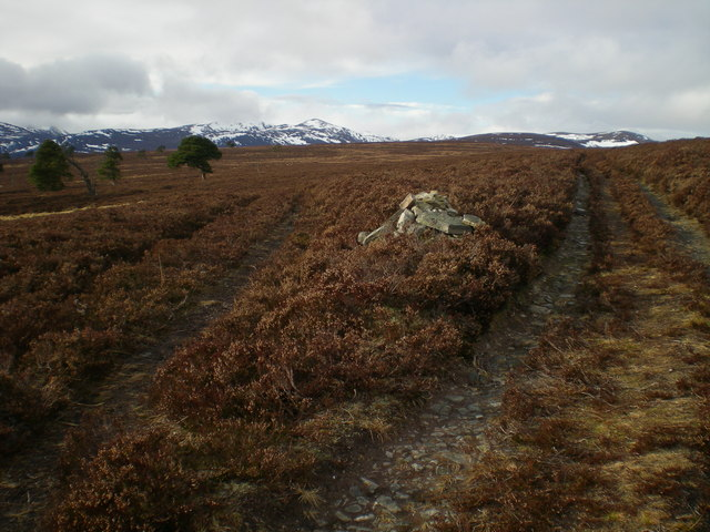 Quoich - Mar Lodge path