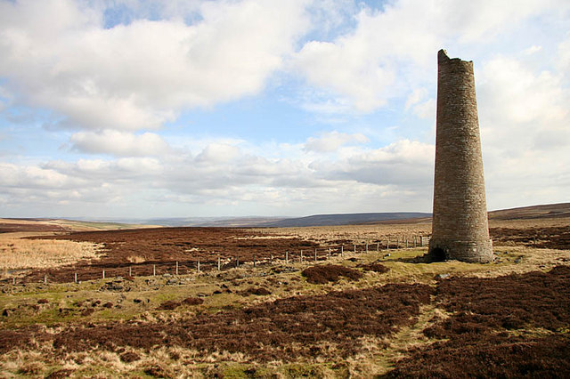 Chimney at Sikehead