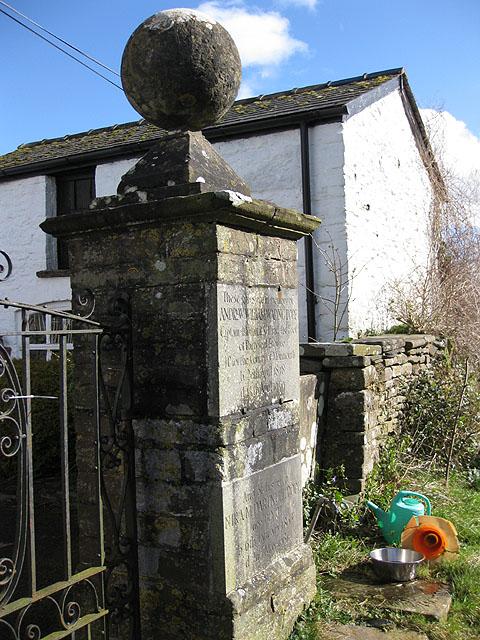 Memorial gates, Grosmont