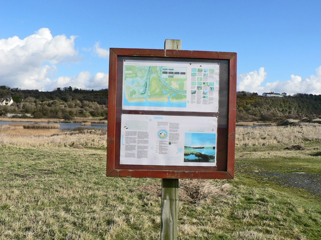 Biodiversity Display Board, Aberthaw Lagoons.