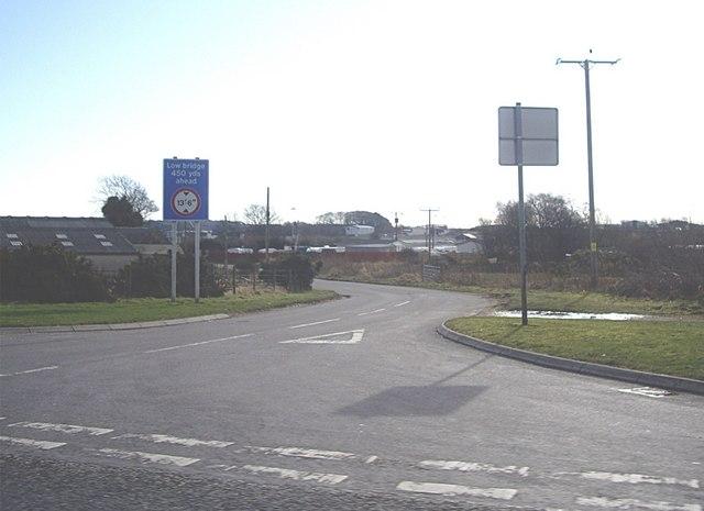 Road to Nether Kirkton