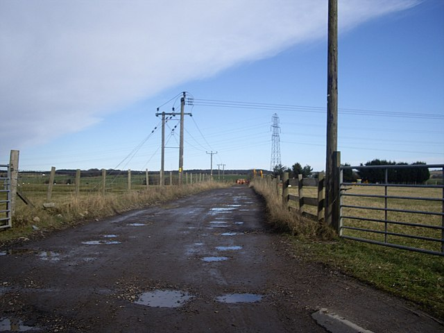 Access to Kirkton of Dyce
