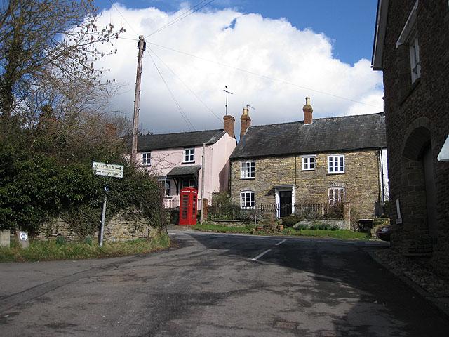 Road junction, Grosmont