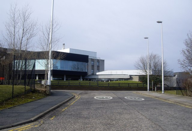 Former canteen end of BPPD offices in Dyce