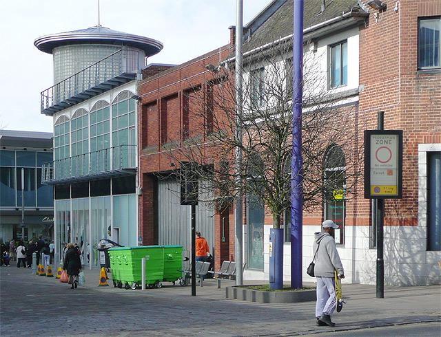 Bilston Street pedestrianised, Wolverhampton