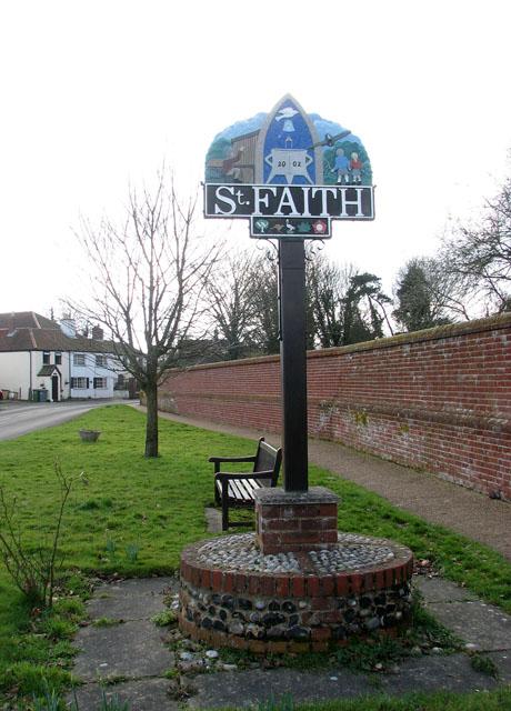Horsham St Faith - village sign