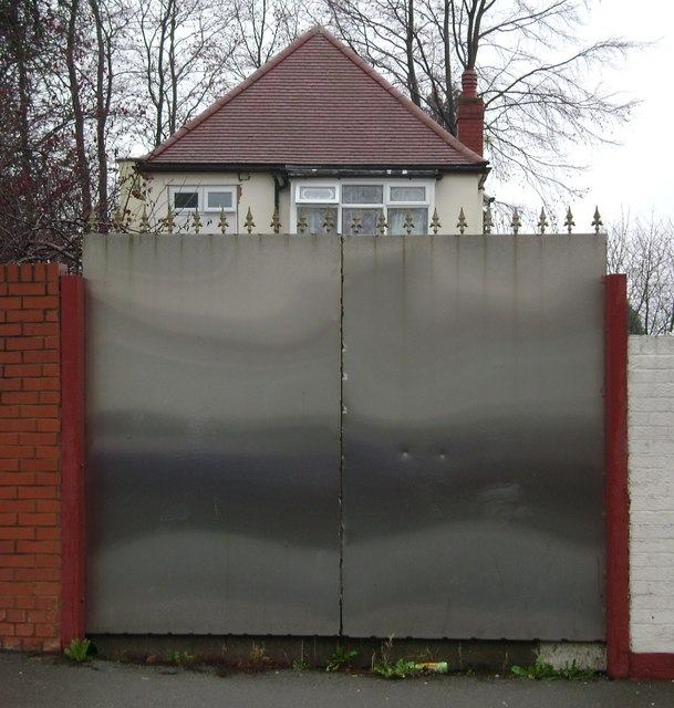 Front gate, Hamstead Road, Handsworth