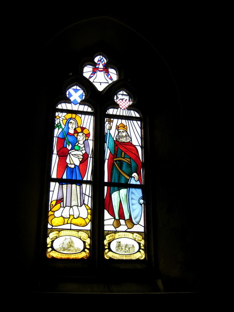 Memorial window - St Mary's Hardington Mandeville
