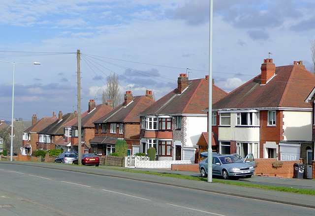 Housing on Wolverhampton Road East