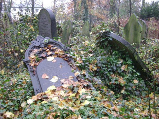 Fallen memorials, Handsworth parish churchyard