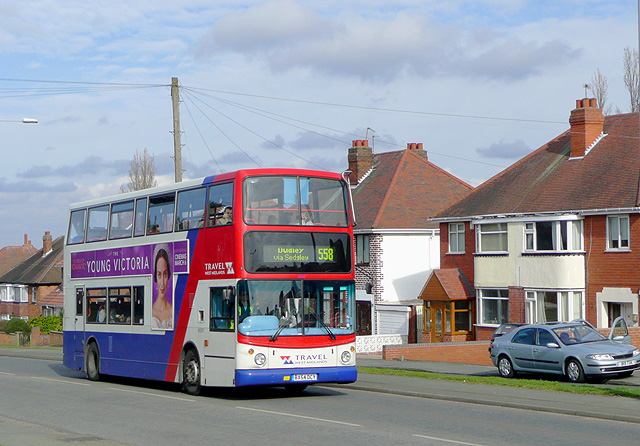 Wolverhampton Road East, The 558 to Dudley via Sedgley