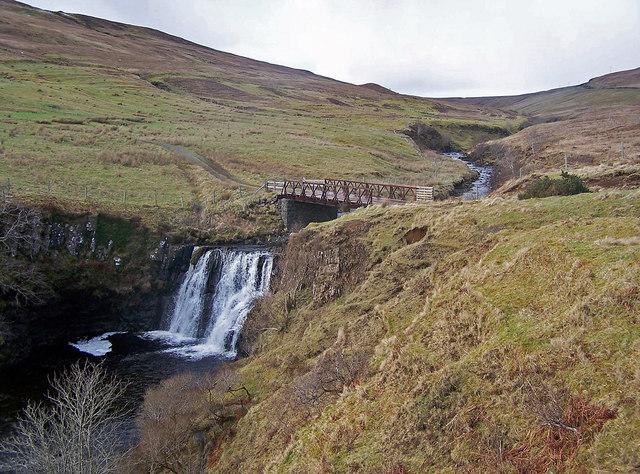 Waterfall on Eynort River