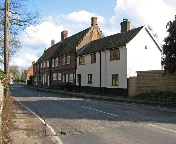 C17 houses in Church Street