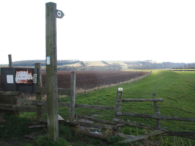 Finger post and stile