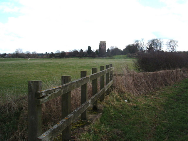 Approaching Shelford, on Stoke Ferry Lane