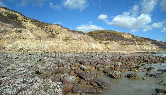 Cliffs at Covehurst Bay
